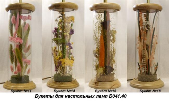 Настольная лампа - Букет Б041.40