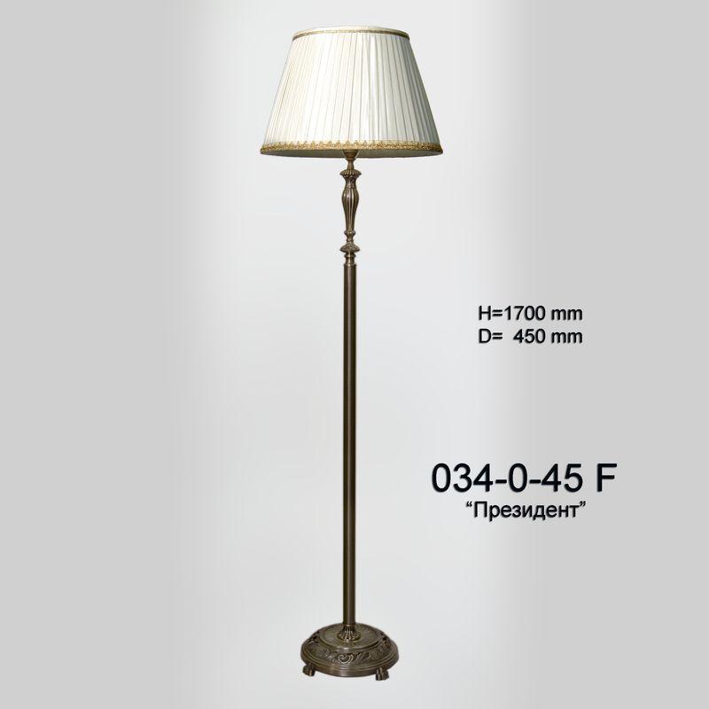 Торшер классический 034.0.45F Президент