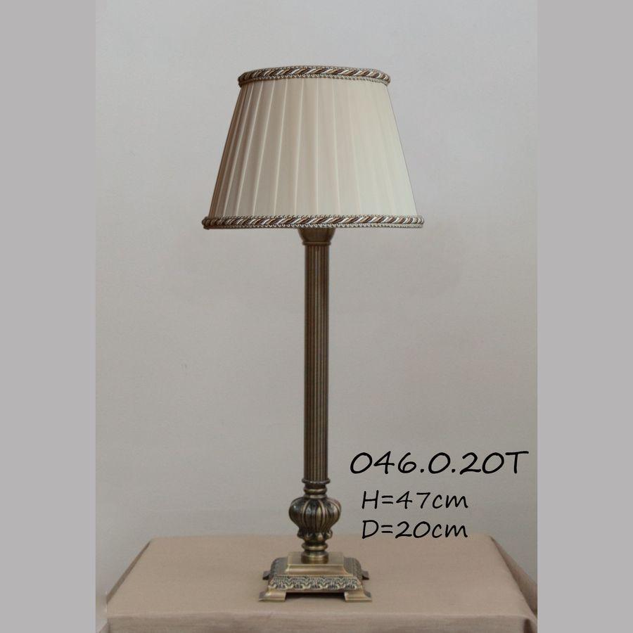 Настольная лампа - Классика с абажуром 046.00.20Т