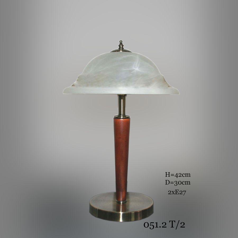Настольная лампа с двумя лампами 051.2 Т/2 Классика
