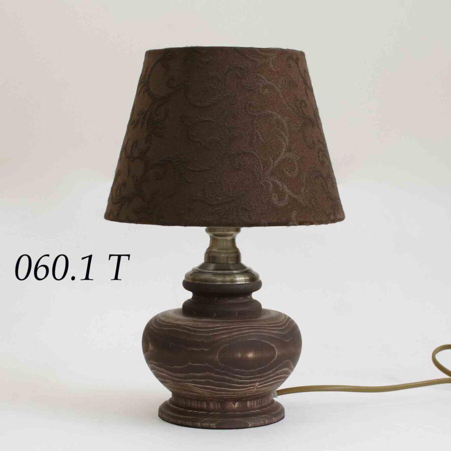 Настольная лампа из дерева 060.01.25Т