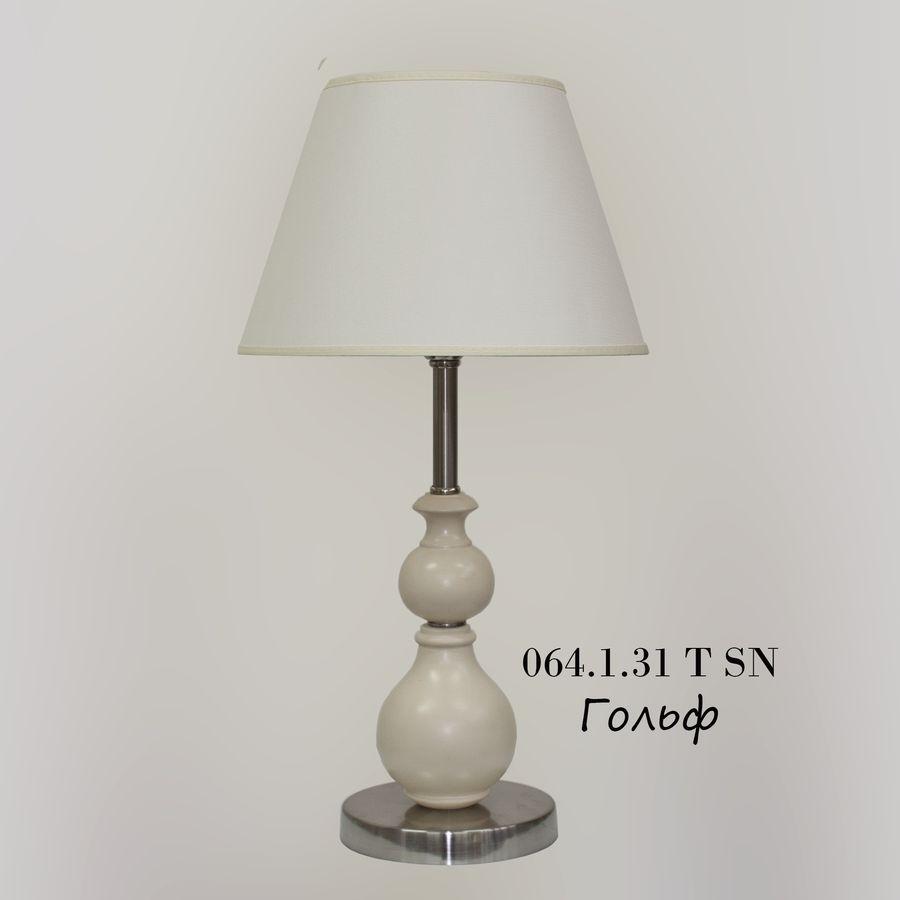 Настольная лампа из дерева 064.1.31Т Гольф
