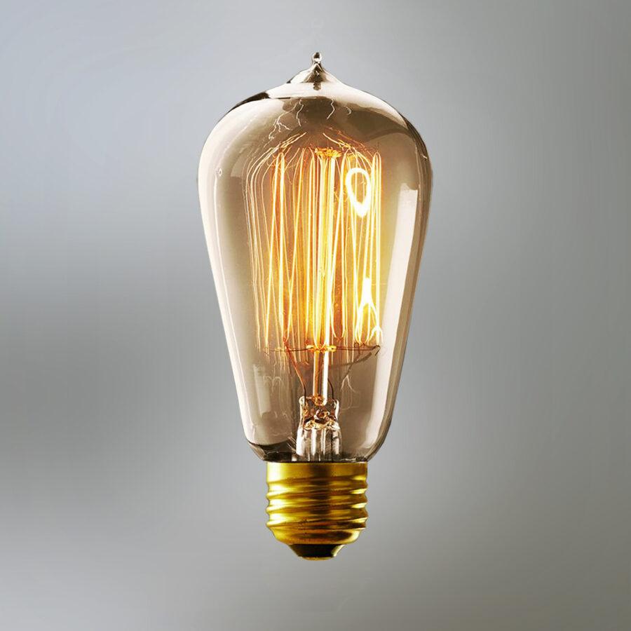 Лампочка Эдисона. 08070/CH (ST64)