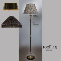 Торшер классика бронза 102.45F