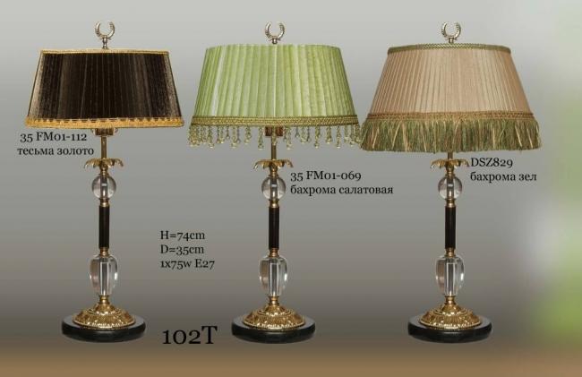 Настольная лампа - Классика 102Т DSZ829T