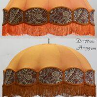 Абажур Тула оранжевая
