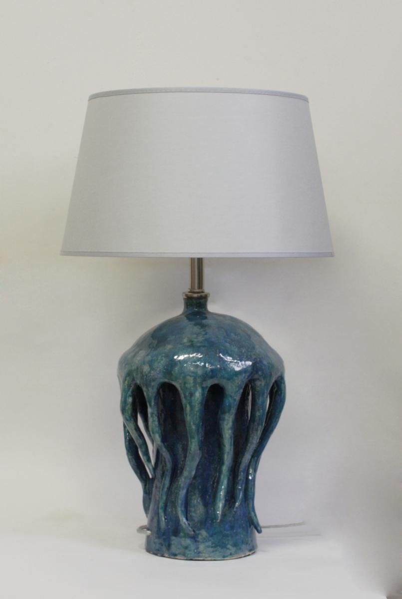 Настольная лампа - Керамика 146.05Т Медуза