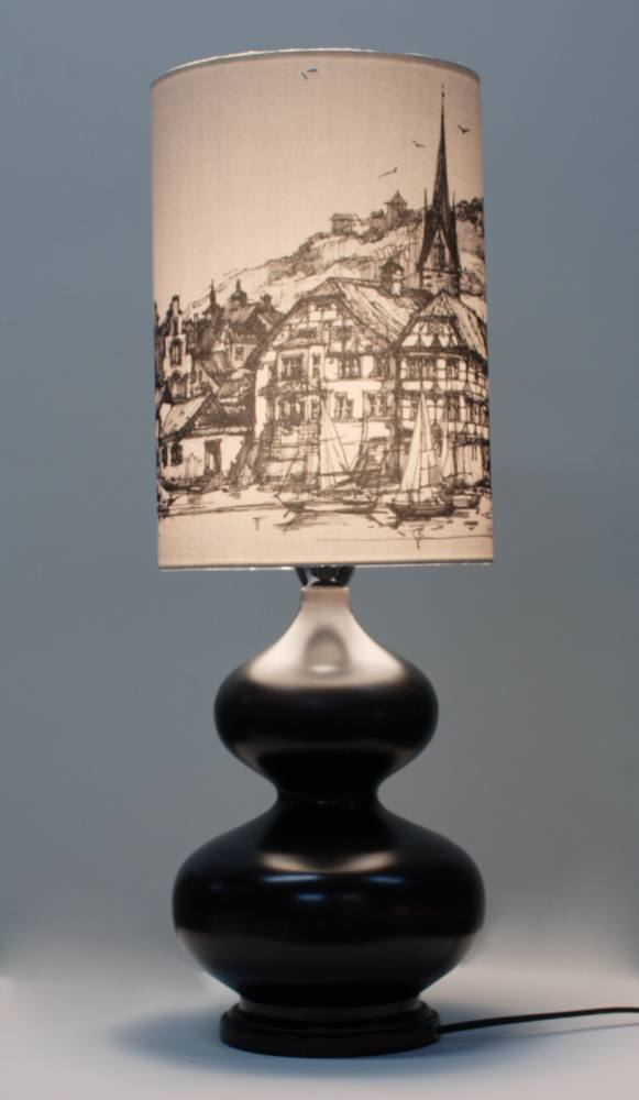 Настольная лампа дизайнерская 122.01Т