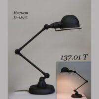 Настольная лампа лофт трансформер 137 MOT1076