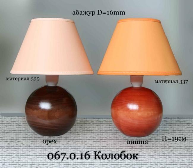 Настольная лампа ночник 067.01.16Т Колобок