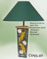 Настольная лампа - Наполнение С093.40зелен