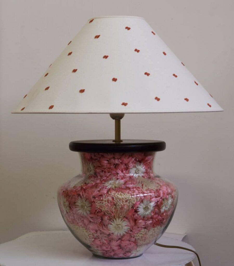 Настольная лампа - Наполнение С021-50 розов