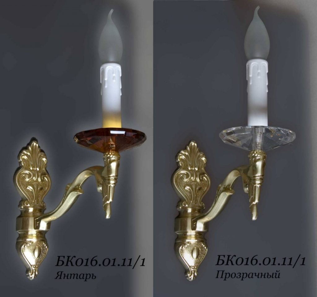 Бра настенное свечка БК016.01.11/1