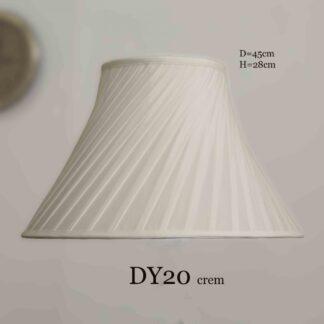 Абажур DY20 светло-кремовый