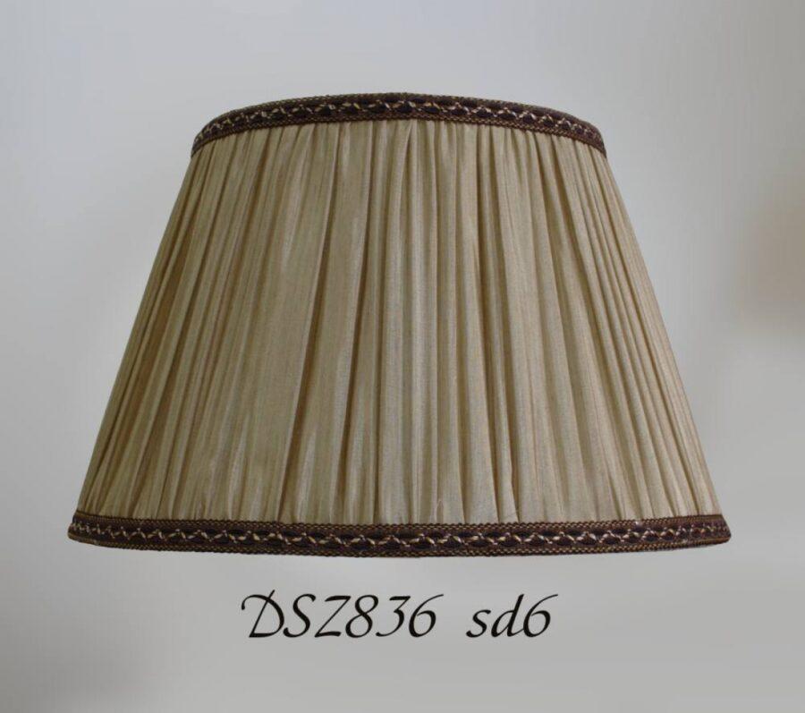 Абажур плиссе тканевый DSZ836