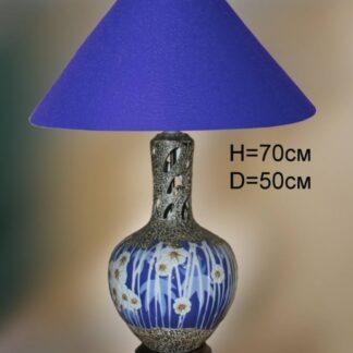 Настольная лампа из керамики 3338-18-60022T