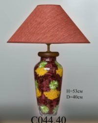 Настольная лампа - Наполнение С044.40 оранжевый