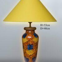 Настольная лампа - Наполнение С044.40 коричневая
