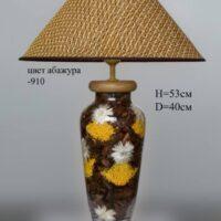 Настольная лампа - Наполнение С044.40 бордо