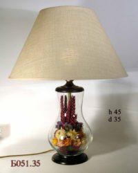 Настольная лампа - Букет Б051.35 желт