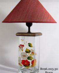 Настольная лампа - Витраж В096.003.30 Н.Л. (Вьюн)