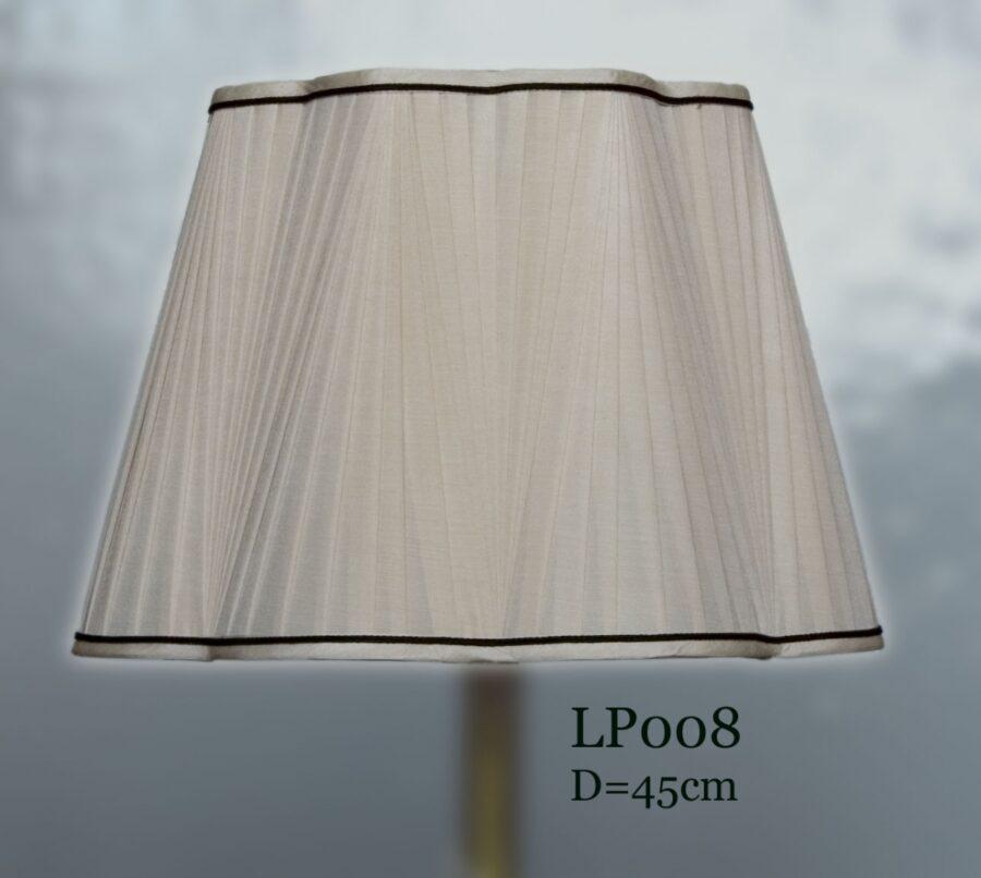 Абажур тканевый с волной LP008