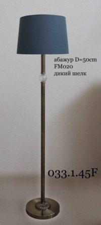 Классический торшер из металла 033.01.45 F