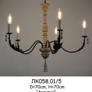 "Люстра американский стиль ЛК058 ""Акантус"""