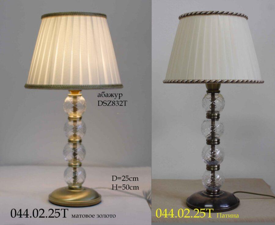 Настольная лампа - Классика 044.02.25Т