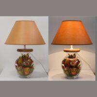 Настольная лампа - Букет Б023.35 абажур цвет 816