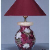 Настольная лампа с цветами С024.30 наполнение