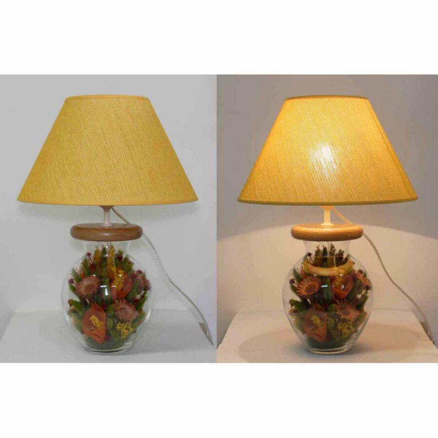 Настольная лампа - Букет Б023.35 абажур цвет 926