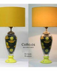 Настольная лампа с букетом цветов C080/01 наполнение
