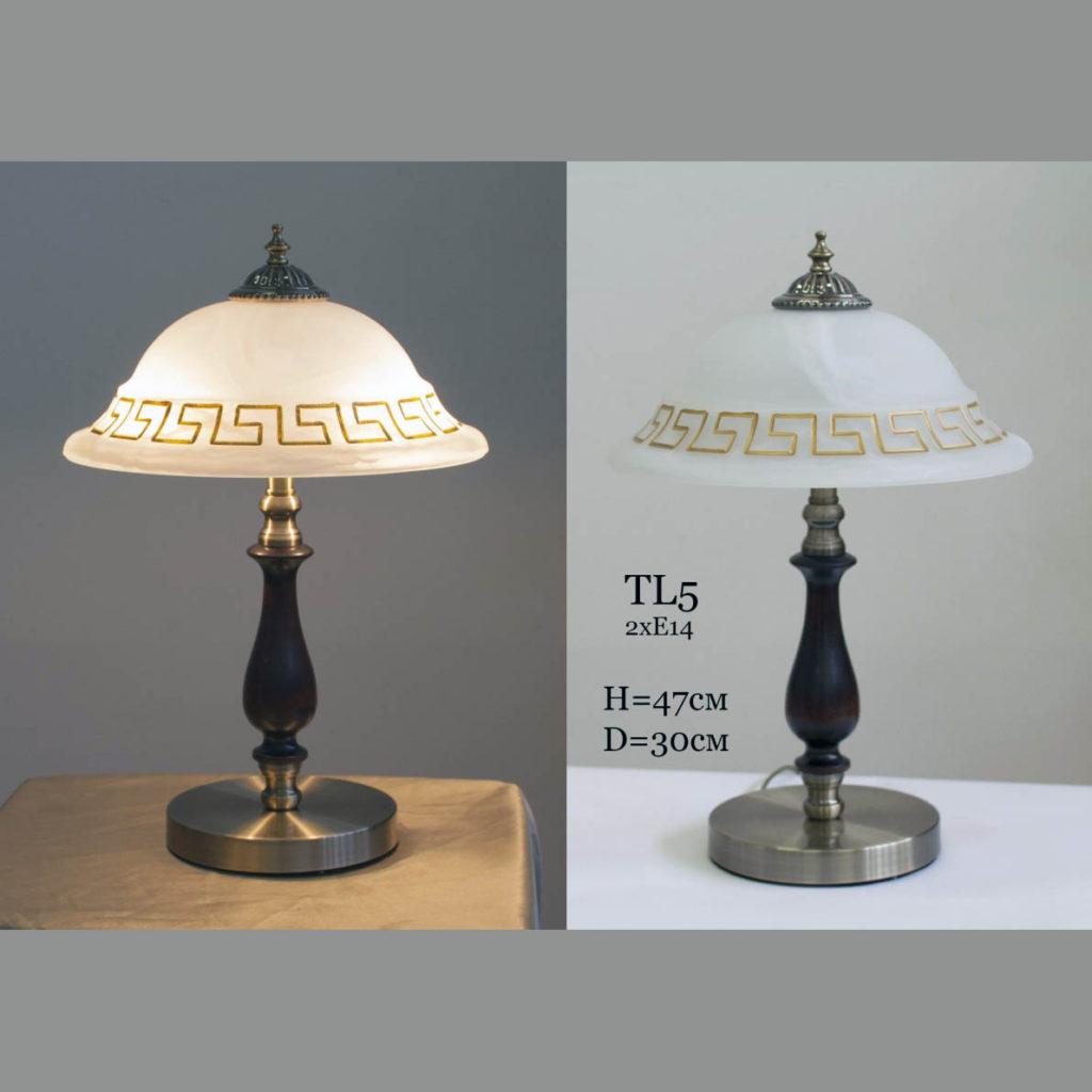 Настольная лампа с плафоном Классика TL-5