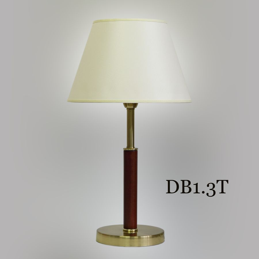 Настольная лампа с классическим абажуром DB1-3 T
