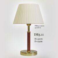 Настольная лампа с абажуром DB3.11 T