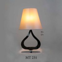 Настольная лампа с абажуром МТ231 - 25