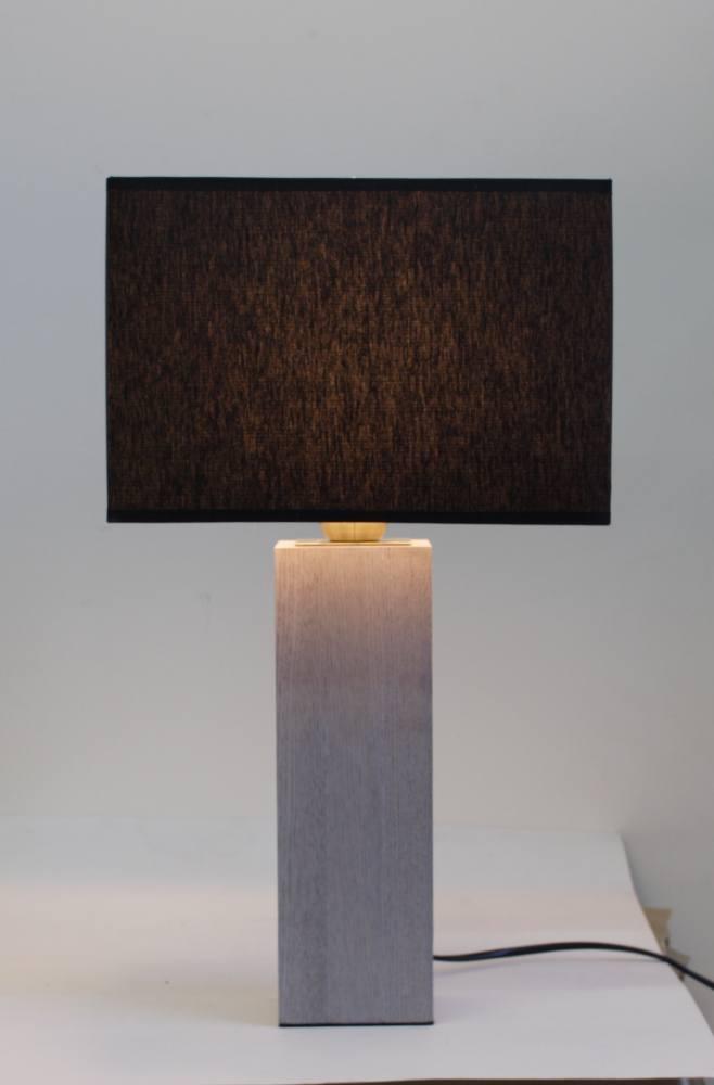 Настольная лампа из дерева 094.01 Т с абажуром