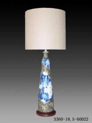 Настольная лампа - Керамика 3360-18,5-60022