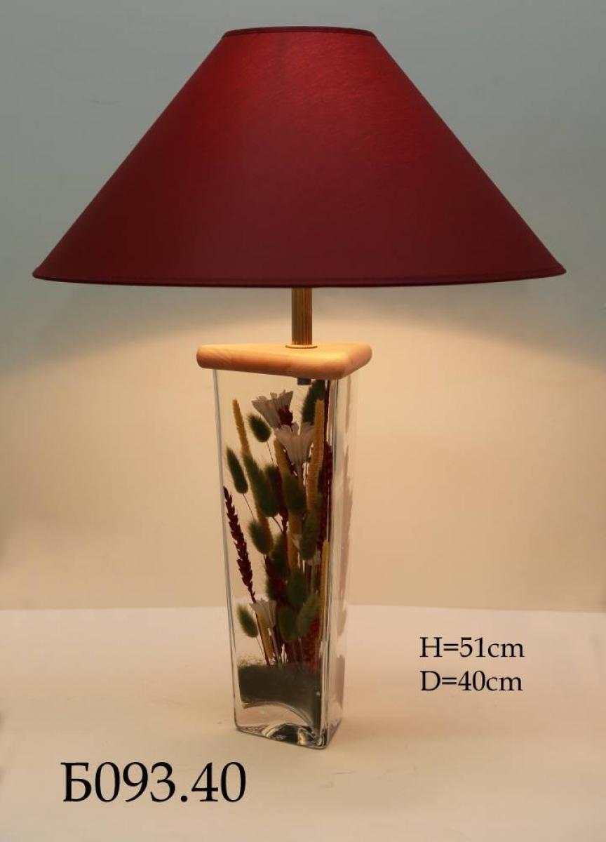 Настольная лампа - Букет Б093.40
