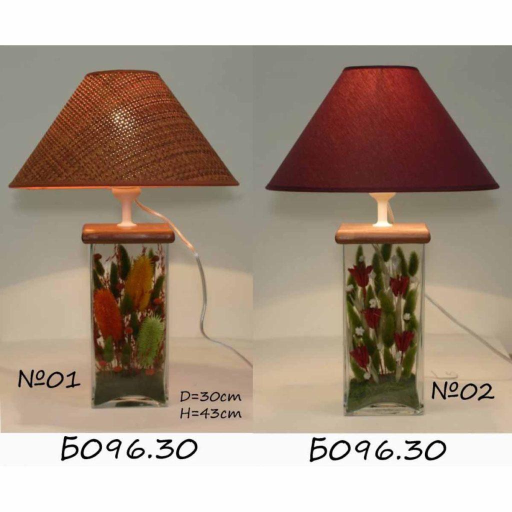 Настольная лампа - Букет Б096.30