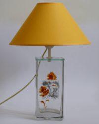 В096.09.30 Цветы в квадрате (оранжевый)