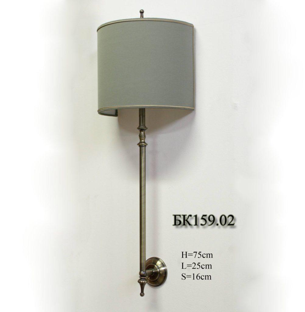 Бра настенное с абажуром БК159.02 Railing