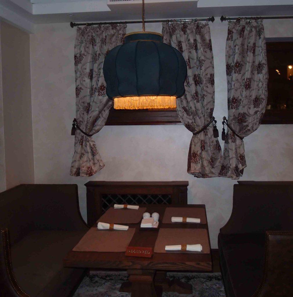 Изготовление светильников для ресторана Долма