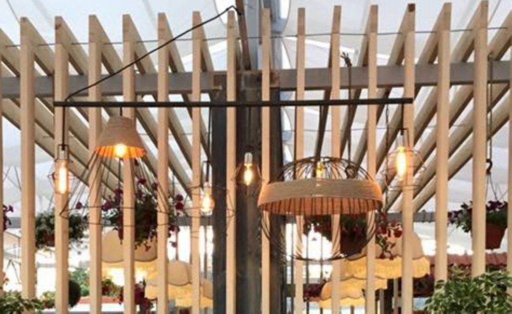 Производство абажуров и светильников для ресторана в Ставрополе
