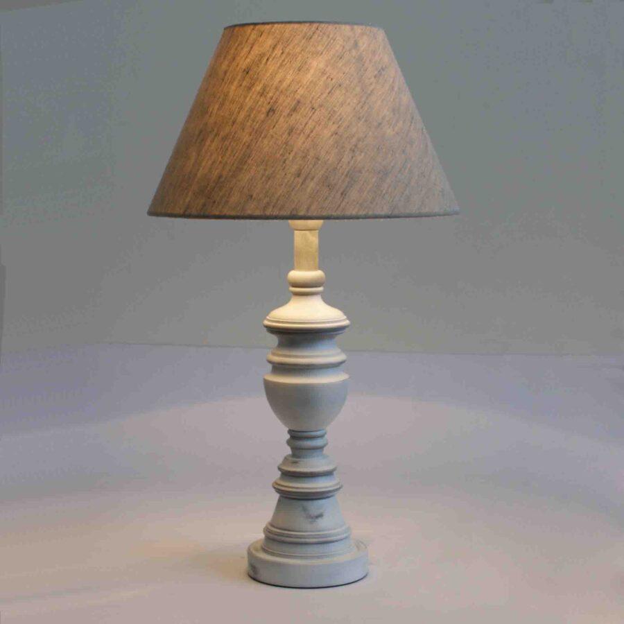 Настольная лампа из дерева 095.01.32Т Клотильда