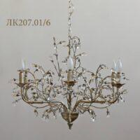 Люстра с кристаллами Crystal Bud ЛК207.01/6