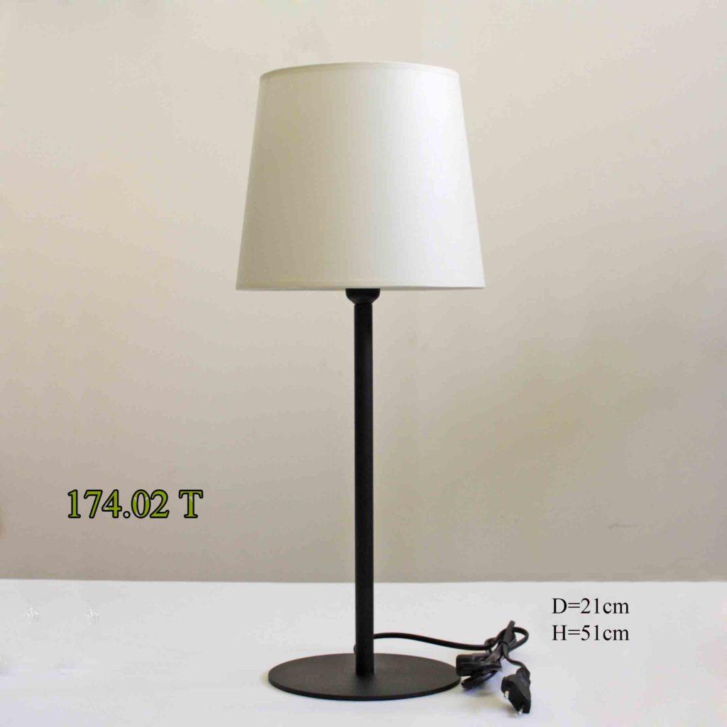 Настольная лампа в современном стиле 174.02Т