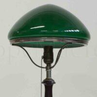 Зеленый плафон для настольной лампы