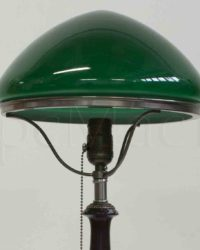 Зеленый плафон для лампы
